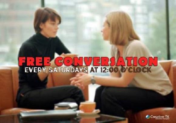 ƏCNƏBİ müəllimlə ÖDƏNİŞSİZ conversation club-a hər kəs dəvətlidir!