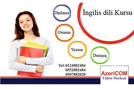 Dünya ilə ünsiyyət qurmağa üçün İngilis dilini öyrənin - (Azericom Courses) - 1
