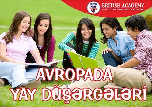 YAY DÜŞƏRGƏLƏRİ - (British Academy-Azerbaijan) - 1