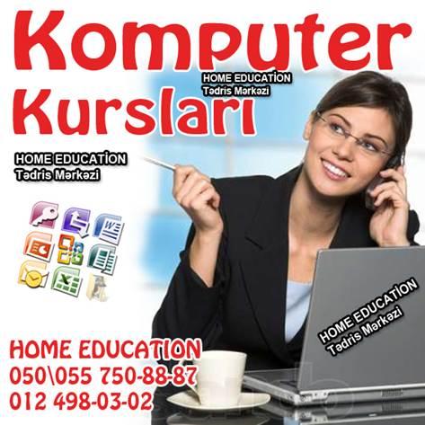 HOME EDUCATİON KOMPÜTER KURSLARINA DƏVƏT EDİR - 1