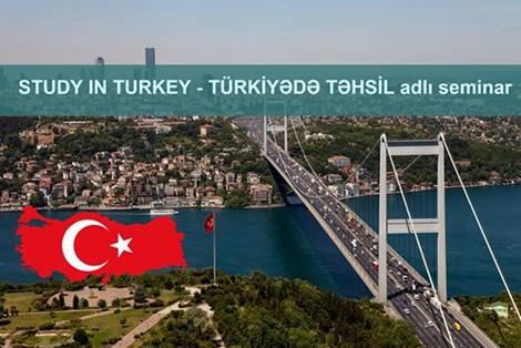 """""""Study in Turkey - Türkiyədə Təhsil"""" adlı pulsuz seminarına dəvət (Vision Təhsil Mərkəzi) - 1"""