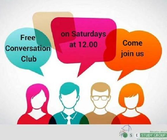 Pulsuz Conversation Club!