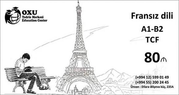 Fransız dil səviyyəsini inkişaf etdirmək və TCF imtahanına hazırlaşın