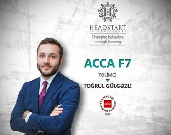ACCA F7 Maliyyə Hesabatlarının hazırlanması və analiz edilməsi - 1