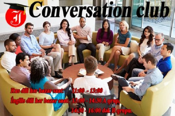 Rus dili üzrə Conversation Club-a gəlin - 1