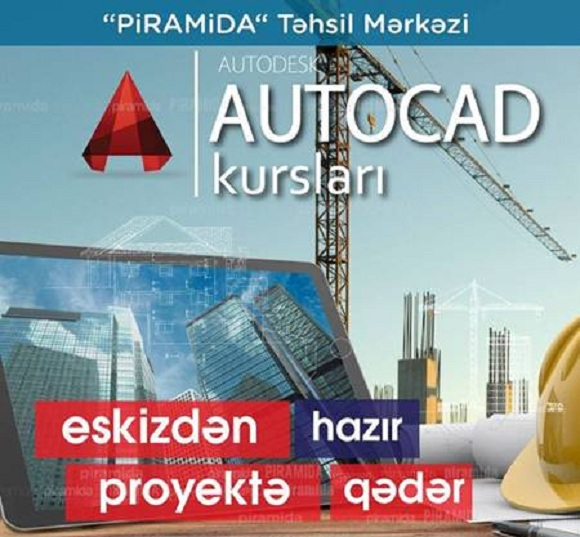 Autocad proqramı üzrə kurs - 1