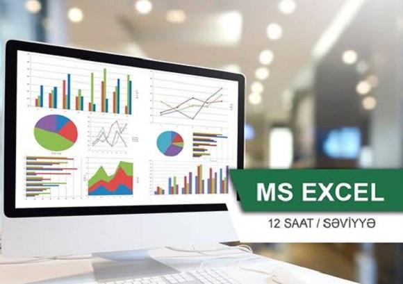 Ms Excel yeni qrup dərsləri üçün təlim başlayır - 1