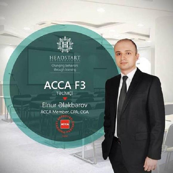 28 aprel tarixində başlayacaq ACCA F3 təlimi üçün qeydiyyat başladı - 1