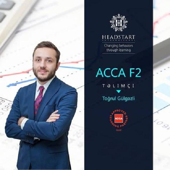 ACCA F2 beynəlxalq sertifikatına sahib olun - 1