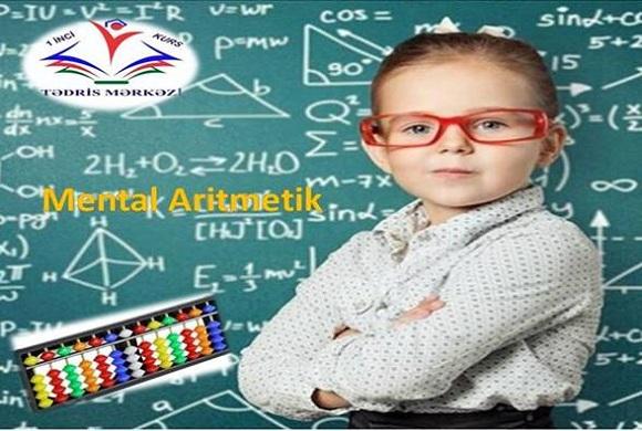 Mental aritmetik (sürətli hesablama) kursuna sizdə qatilin - 1