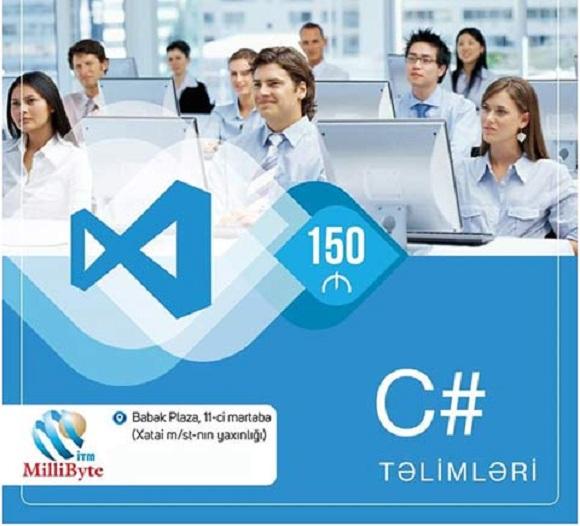MilliByte-ın təhsil mərkəzində C# dərslərinə qatıl - 1
