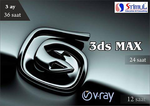 3D Max kurslarına qeydiyyat başladı! (STIMUL Education Consulting) - 1