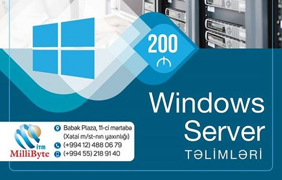 Peşəkar Windows Server təlimləri - Milli bayt - 1