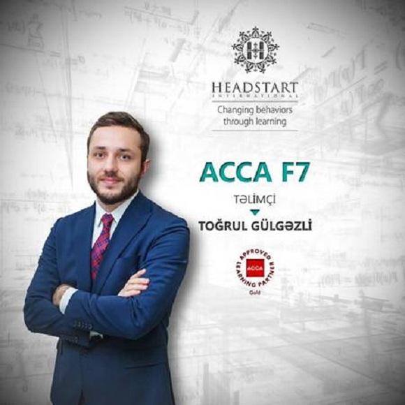 ACCA F7 təlimlərinə hərkəs dəvətlidir - 1