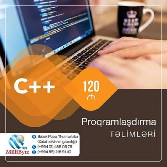 Peşəkar C++ təlimləri - 1