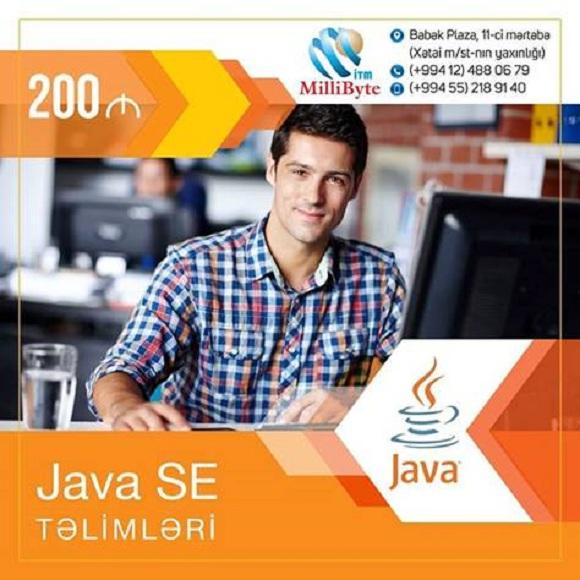 Java SE təlimlərinə qəbul davam edir - 1