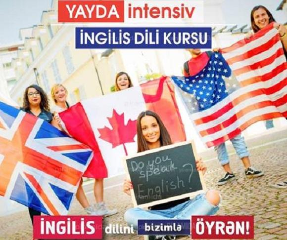 Yayda intensiv ingilis dili kursu - 1