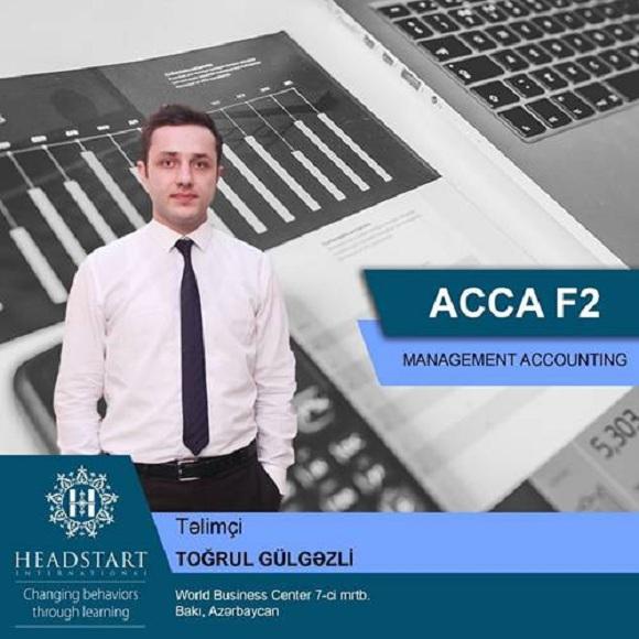ACCA F2 imtahanına hazırlaşan şəxslərin nəzərinə - 1