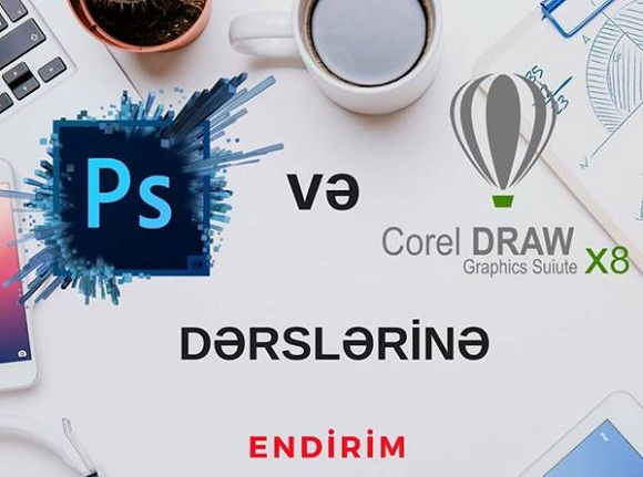 Corel Draw və Photoshop proqramlarına ENDRİMLƏR - 1