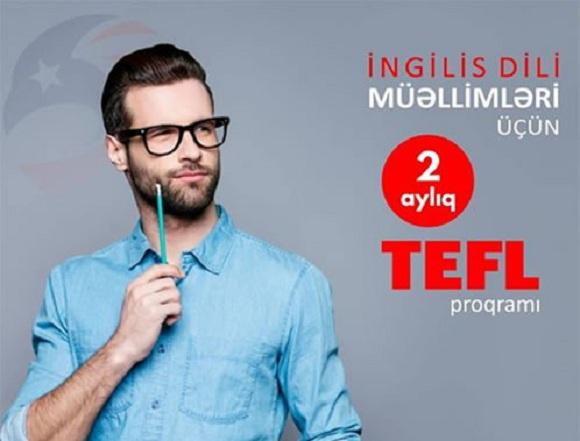 İngilis dili müəllimləri üçün 2 aylıq TEFL proqramı