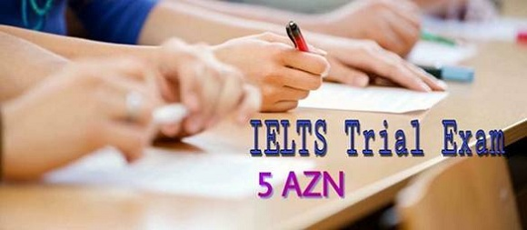IELTS sınaq imtahanı - 1