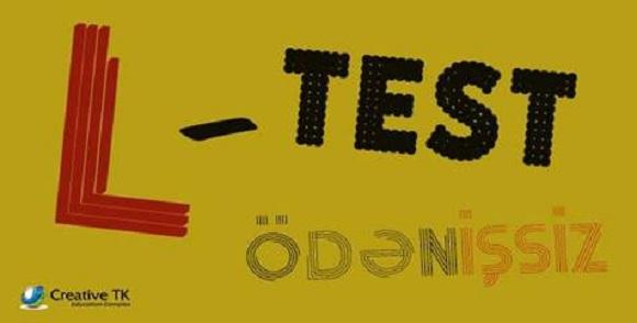 CREATIVE TK sizin INGILIS dili bilik səviyyənizi yoxlamaq üçün ödənişsiz L-TEST təşkil edir