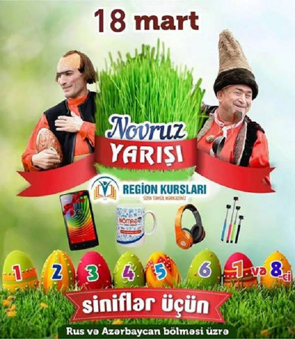 "Region kurslarının ""Novruz yarışı"