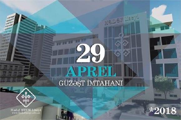 29 Aprel Hədəf Liseyinə Güzəşt İmtahanı günüdür - 1