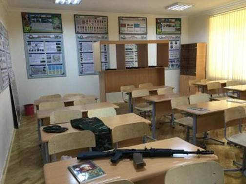 Orta məktəblərdə hərbi kabinetlər yaradılır - 1