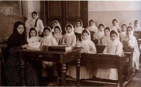 Müsəlman qızlar üçün açılmış ilk məktəbin 114 yaşı tamam oldu - 1