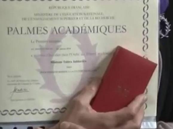 279 - Fransa ordeni alan azərbaycanlı müəllimə kimdir?
