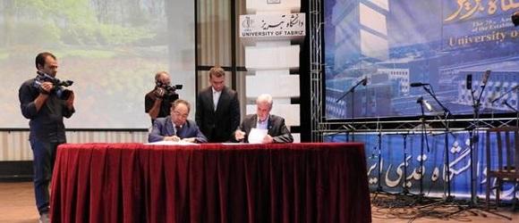 Təbriz Universiteti və BDU arasında Memorandum imzalanıb - 1