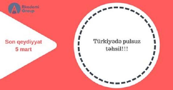 """""""Türkiye Bursları""""na qəbul başladı"""