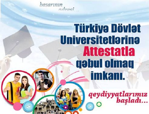 Türkiyyə dövlət universitetlərinə ATTESTATLA qəbul başlamışdır - 1