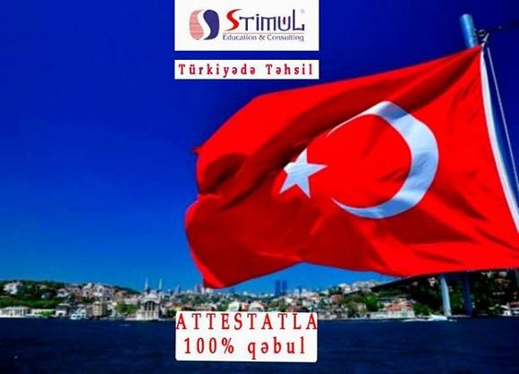 Türkiyənin Universitetlərinə ATTESTATLA 100% Qəbul - 1
