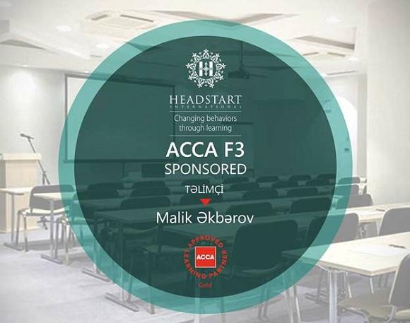 ACCA F3 kursu üçün 40% endirim - 1