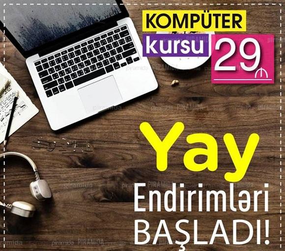 MS Office kurslarımıza YAY ENDİRİMLƏRİ - 1