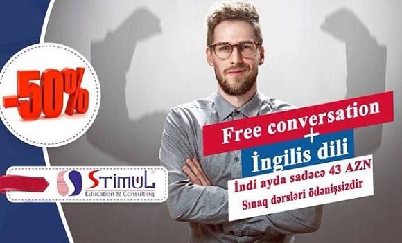 İNGİLİS dili kurslarımıza 50%-lik YAY ENDİRİMLƏRİ - 1
