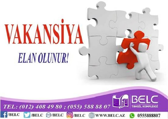 Müəllim vakansiyası - Özünə güvənən peşəkar müəllimlərin nəzərinə - 1
