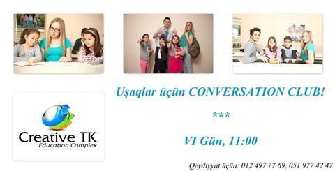 Uşaqlar üçün CONVERSATION CLUB! - (Creative TK) - 1
