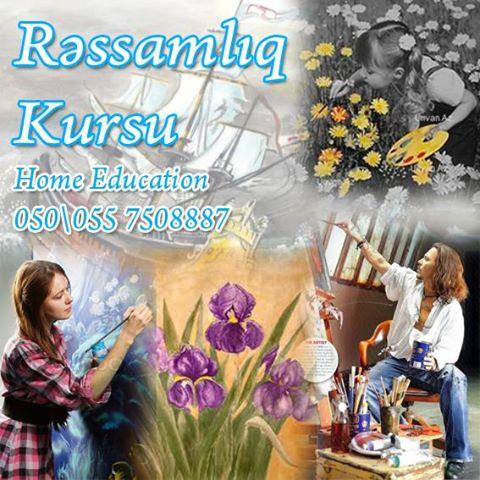 Rəsm dərnəyinə dəvətlisiniz - (HOME Education) - 1