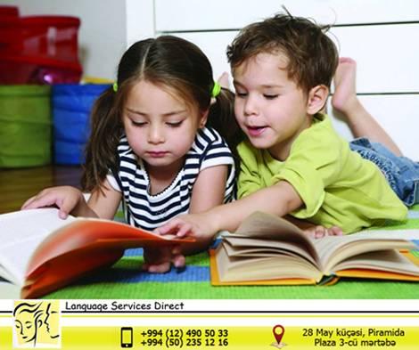 Uşaqlar üçün İntensiv İngilis Dili kursları! - (Language Services Direct) - 1