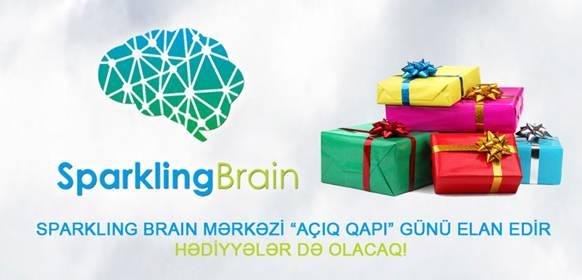 """Sparkling Brain mərkəzi """"Açıq qapı"""" günü elan edir - HƏDİYYƏLƏR də olacaq! - 1"""