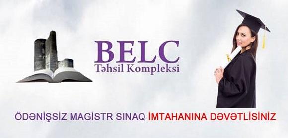 Ödənişsiz magistr sınaq imtahanı - BELC Tədris kompleksi