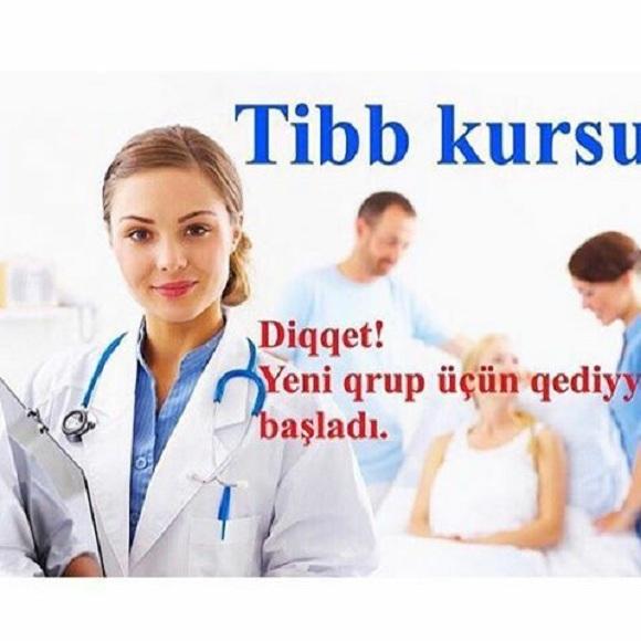 Tibb kurslarında maraqlı olanlara – yeni qruplara qeydiyyat başlanmışdır