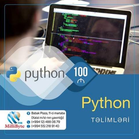 Peşəkar Python təlimlərinə başlamaq istəyənlərin nəzərinə!
