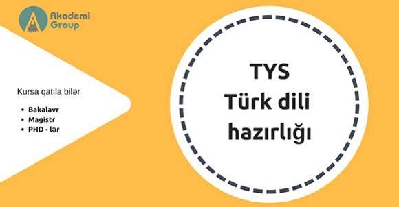 TYS - Türk dili kurslarına qəbul davam edir