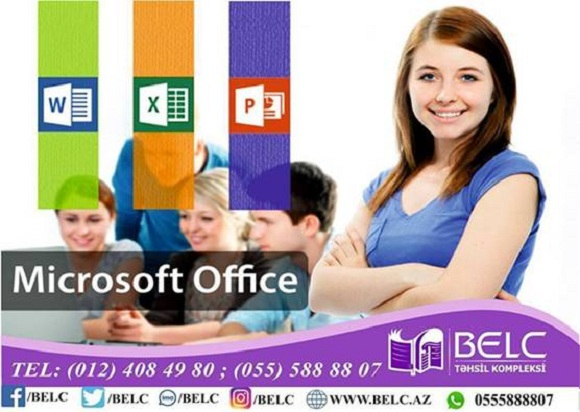MS Office kurslarına sizdə qatilin
