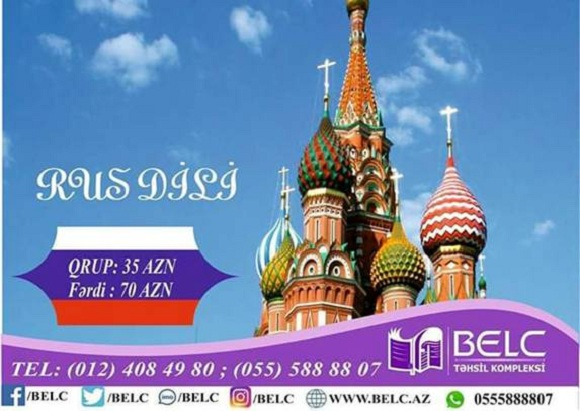 Rus-dili kurslarını mükəmməl metodika ilə tədris olunur