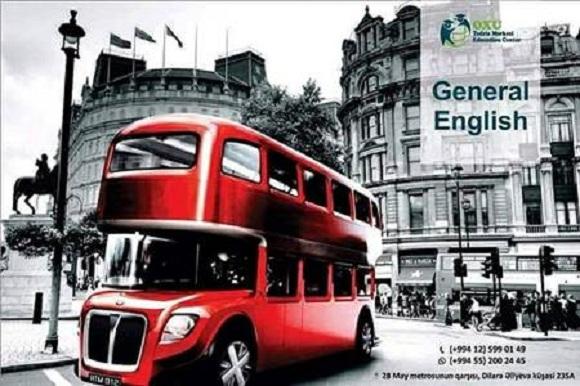 General English kursları fevral ayı üçün qeydiyyata start verdik